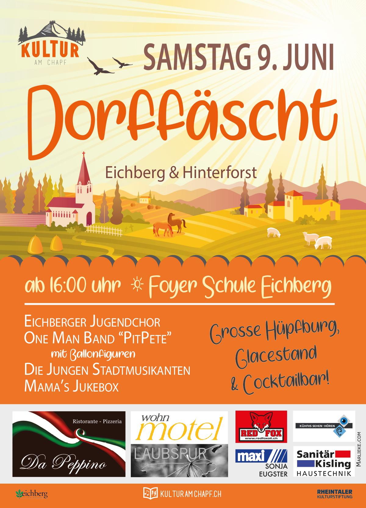 dorffäscht Eichberg 2018
